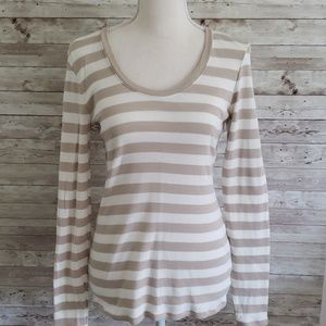 Old Navy Cotton Long Sleeve Top